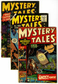 Golden Age (1938-1955):Horror, Mystery Tales #7, 10, and 28 Group (Atlas, 1953-55) Condition:Average VG/FN.... (Total: 3 Comic Books)