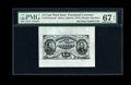 Fractional Currency:Third Issue, Fr. 1275SP 15c Third Issue Wide Margin Face PMG Superb Gem Unc 67 EPQ....