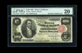 Large Size:Silver Certificates, Fr. 344 $100 1891 Silver Certificate PMG Very Fine 20....
