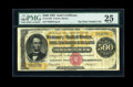 Large Size:Gold Certificates, Fr. 1216b $500 1882 Gold Certificate PMG Very Fine 25....