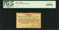 Colonial Notes:New York, New York August 2, 1775 (Water Works) 8s PCGS Choice New 63PPQ.....