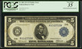 Error Notes:Double Denominations, Fr. 884 $5/$10 1914 Federal Reserve Note PCGS Very Fine 35.. ...