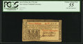 Colonial Notes:New Jersey, New Jersey John Hart Signed February 20, 1776 30s PCGS Choice About New 55.. ...