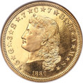Proof Four Dollar Gold Pieces, 1880 $4 Judd-1657, Pollock-1857, PR67 Cameo NGC....