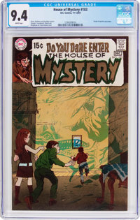 House of Mystery #183 (DC, 1969) CGC NM 9.4 White pages