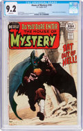 Bronze Age (1970-1979):Horror, House of Mystery #195 (DC, 1971) CGC NM- 9.2 White pages....