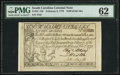 Colonial Notes:South Carolina, South Carolina February 8, 1779 $100 PMG Uncirculated 62.. ...