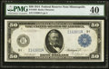Large Size:Federal Reserve Notes, Fr. 1058 $50 1914 Federal Reserve Note PMG Extremely Fine 40.. ...