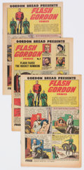 Golden Age (1938-1955):Science Fiction, Flash Gordon #1 and 2 Group of 3 (Harvey, 1951) Condition: AverageVF/NM.... (Total: 3 Comic Books)