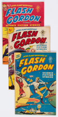Golden Age (1938-1955):Science Fiction, Flash Gordon #1-4 Group (Harvey, 1950-51) Condition: Average VG....(Total: 4 Comic Books)