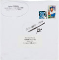 Baseball Collectibles:Others, 1990's Stan Musial Birthday Card Sent by Dodgers Owner Peter O'Malley. ...