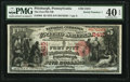 National Bank Notes:Pennsylvania, Pittsburgh, PA - $5 1875 Fr. 404 The Fort Pitt NB Ch. # 2415. ...