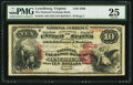 National Bank Notes:Virginia, Lynchburg, VA - $10 1875 Fr. 419 The National Exchange Bank Ch. #2506. ...