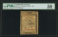 Colonial Notes:Continental Congress Issues, Continental Currency February 17, 1776 $1/6 PMG Choice About Unc 58.. ...
