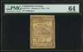 Colonial Notes:Continental Congress Issues, Continental Currency February 17, 1776 $1/6 PMG Choice Uncirculated64.. ...