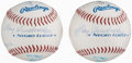 Autographs:Baseballs, Negro League Multi-Signed Baseballs Lot of 2....