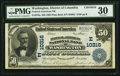 National Bank Notes:District of Columbia, Washington, DC - $50 1902 Plain Back Fr. 679a Federal-American NB Ch. # (E)10316. ...