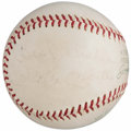 "Autographs:Baseballs, Mickey Mantle ""Best Wishes"" Single Signed Baseball. ..."
