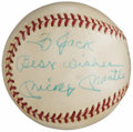 Autographs:Baseballs, Mickey Mantle Signed and Personalized Baseball. ...