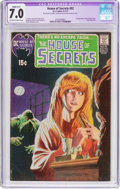 Bronze Age (1970-1979):Horror, House of Secrets #92 (DC, 1971) CGC Apparent FN/VF 7.0 Slight (B-1)Off-white to white pages....