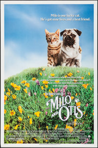 "The Adventures of Milo and Otis & Other Lot (Columbia, 1989). One Sheets (2) (27"" X 41""). Adventure. ... (..."
