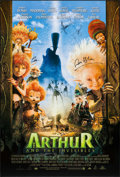 "Movie Posters:Animation, Arthur and the Invisibles & Other Lot (MGM, 2006). AutographedOne Sheet & One Sheet (2) (27"" X 40"") DS. Animation.. ...(Total: 2 Items)"