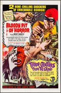 """Movie Posters:Horror, Bloody Pit of Horror/Terror-Creatures from the Grave Combo & Other Lot (Pacemaker, 1967). One Sheets (2) (27"""" X 41""""). Horror... (Total: 2 Items)"""
