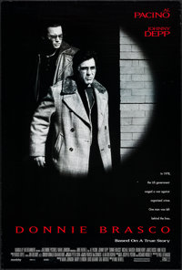 """Donnie Brasco & Others Lot (Tri-Star, 1997). One Sheets (3) (27"""" X 40"""") DS. Crime. ... (Total: 3 Items)"""