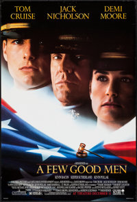 "A Few Good Men & Other Lot (Columbia, 1992). One Sheets (2) (27"" X 40"") DS Advance. Drama. ... (Total: 2 I..."