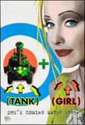 """Movie Posters:Action, Tank Girl (United Artists, 1995). One Sheets (2) (27"""" X 40"""") SS Advance Day-Glo and Regular Styles. Action.. ... (Total: 2 Items)"""