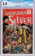 Silver Age (1956-1969):Adventure, Long John Silver and the Pirates #30 (Charlton, 1956) CGC VG/FN 5.0 Off-white to white pages....