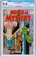 Silver Age (1956-1969):Mystery, House of Mystery #134 (DC, 1963) CGC NM 9.4 Off-white to whitepages....