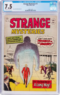 Silver Age (1956-1969):Mystery, Strange Mysteries #11 (I. W. Enterprises, 1963) CGC VF- 7.5Off-white to white pages....