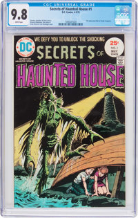 Secrets of Haunted House #1 (DC, 1975) CGC NM/MT 9.8 White pages