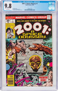 Bronze Age (1970-1979):Science Fiction, 2001: A Space Odyssey #1 (Marvel, 1976) CGC NM/MT 9.8 White pages....