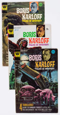 Bronze Age (1970-1979):Horror, Boris Karloff Tales of Mystery Whitman Variant Group of 22(Whitman, 1973-79) Condition: Average VG+.... (Total: 22 ComicBooks)