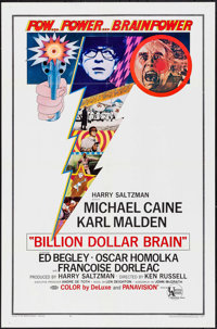 """Billion Dollar Brain & Other Lot (United Artists, 1967). One Sheets (2) (27"""" X 41""""). Thriller. ... (To..."""