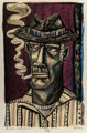 David Bates (American, b. 1952) Blue Haven Lithograph in colors 21-3/4 x 13-3/4 inches (55.2 x 34.9 cm) Ed. 17/18 S