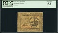 Colonial Notes:Continental Congress Issues, Continental Currency November 29, 1775 $2 PCGS About New 5...