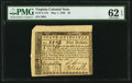 Colonial Notes:Virginia, Virginia May 1, 1780 $5 PMG Uncirculated 62 EPQ.. ...
