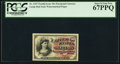 Fractional Currency:Fourth Issue, Fr. 1257 10¢ Fourth Issue PCGS Superb Gem New 67PPQ.. ...