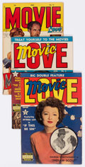 Golden Age (1938-1955):Romance, Movie Love Group of 15 (Famous Funnies Publications, 1950-53) Condition: Average FN.... (Total: 15 Comic Books)