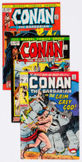 Bronze Age (1970-1979):Adventure, Conan the Barbarian Group of 7 (Marvel, 1971-73) Condition: Average VF/NM.... (Total: 7 Comic Books)