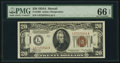 Small Size:World War II Emergency Notes, Fr. 2305 $20 1934A Hawaii Federal Reserve Note. PMG Gem Un...