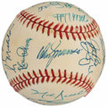 Autographs:Baseballs, 1989 Chicago Cubs Team Signed Baseball (27 Signatures)....
