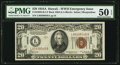 Small Size:World War II Emergency Notes, Fr. 2305 $20 1934A Hawaii Federal Reserve Note. PMG About ...