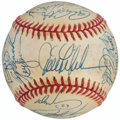 Autographs:Baseballs, 1992 Chicago Cubs Team Signed Baseball (26 Signatures)....