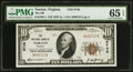 National Bank Notes:Virginia, Norton, VA - $10 1929 Ty. 1 The NB of Norton Ch. # 9746. ...