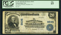 National Bank Notes:Virginia, Herndon, VA - $20 1902 Plain Back Fr. 652 The NB of Herndon Ch. #9635. ...