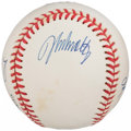 Autographs:Baseballs, Atlanta Braves Pitching Greats Multi-Signed Baseball - Maddux,Glavine, Smoltz & Neagle. ...